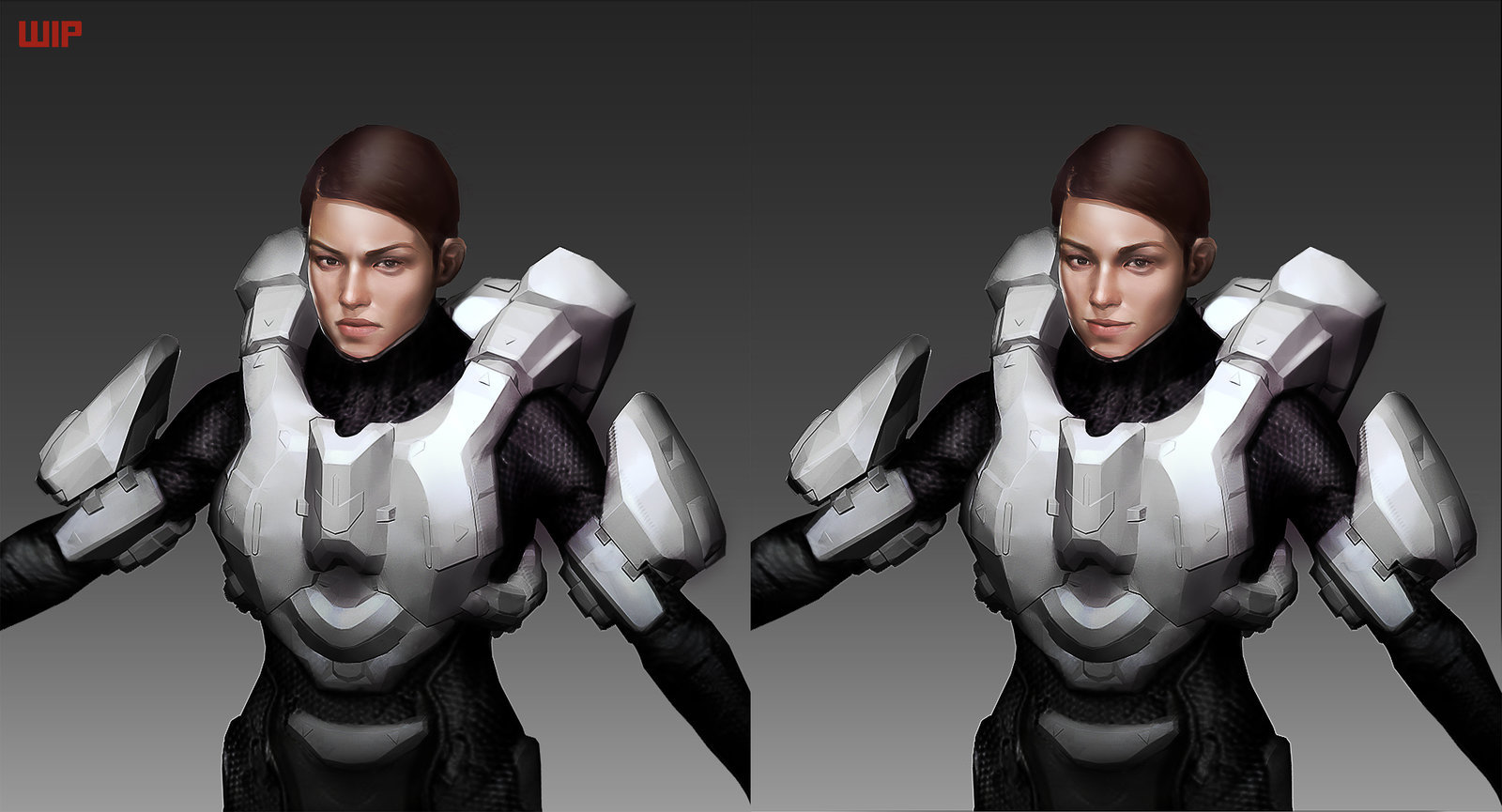 David kaye halo 4 sarah palmer commission wip by katmachiavelli d88b36w