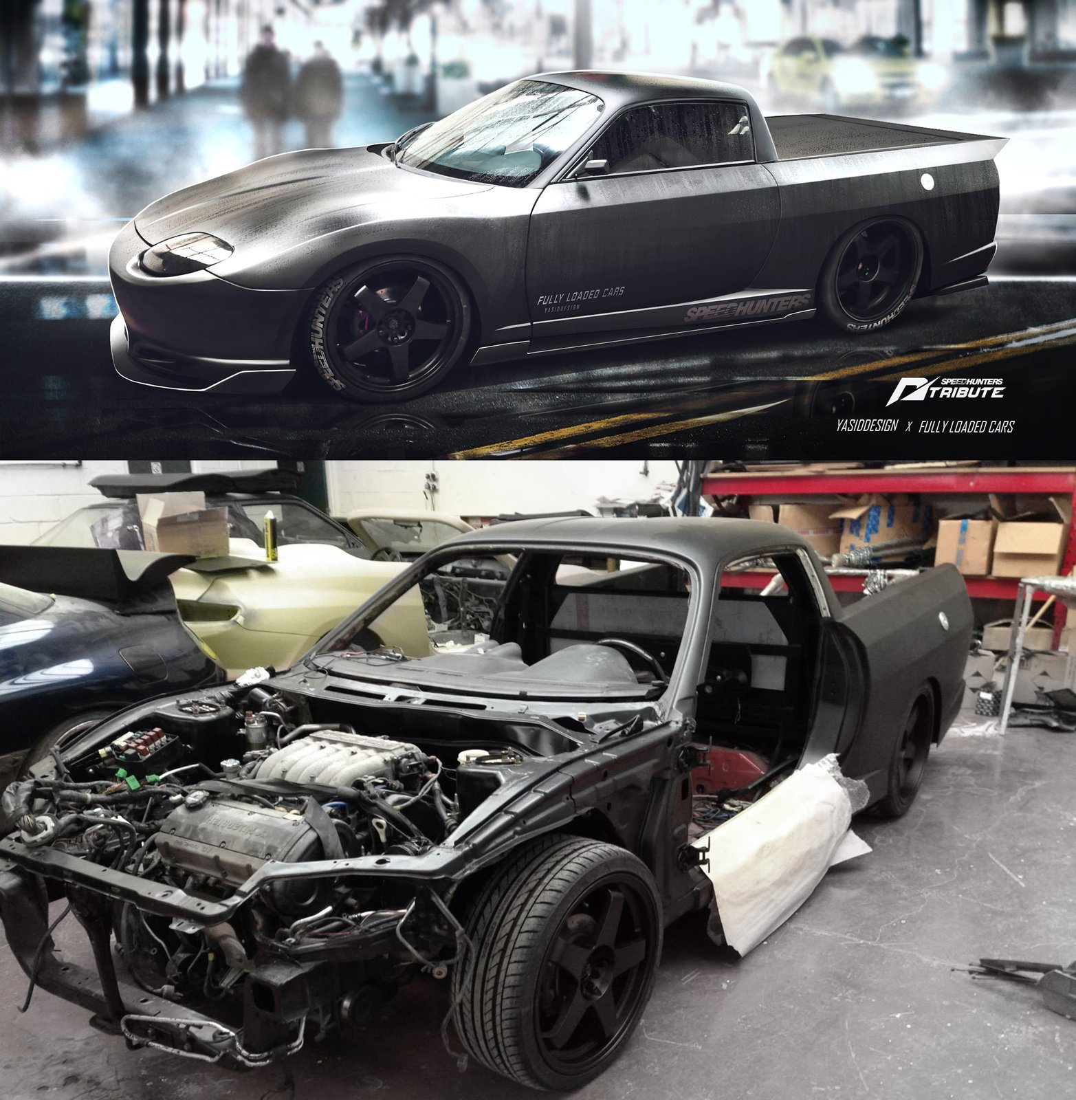 yasiddesign X fullyloadedcars FTO build