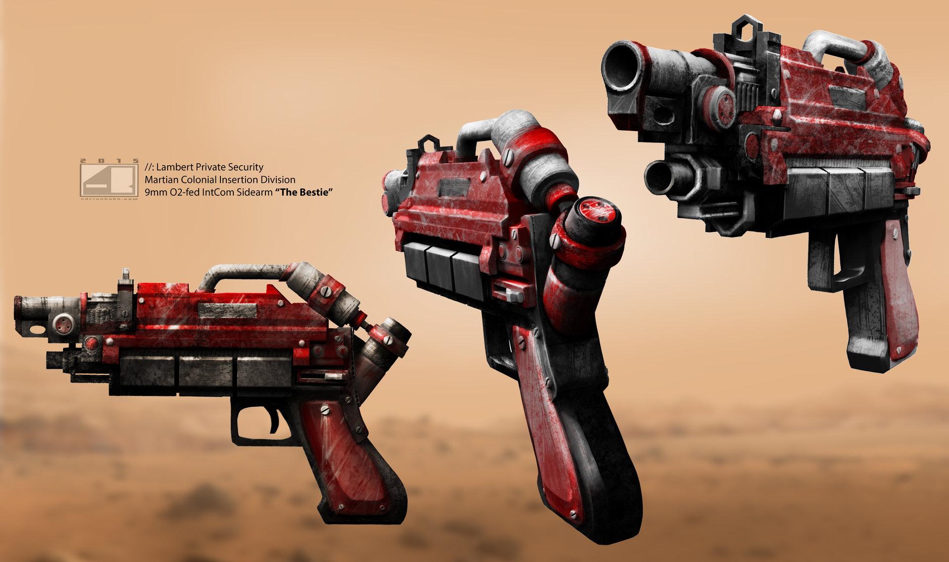 Adrian bobb brooke gun