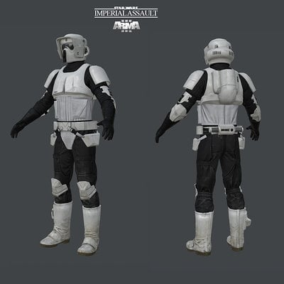 David munoz velazquez scouttrooper model