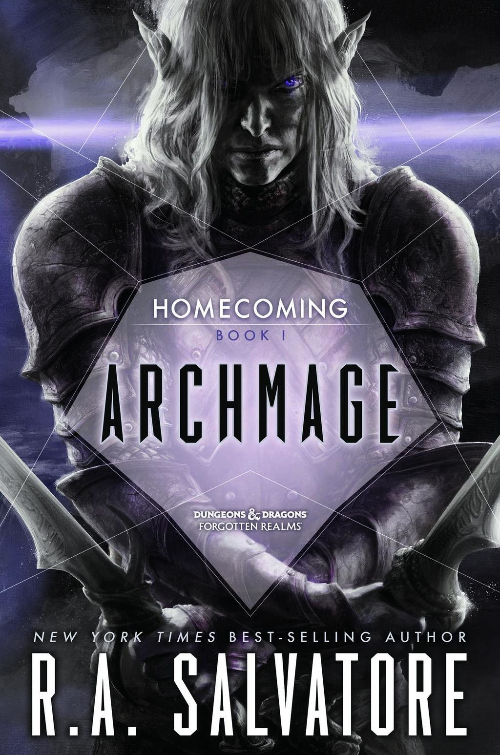 Archmage book cover / R.A. Salvatore