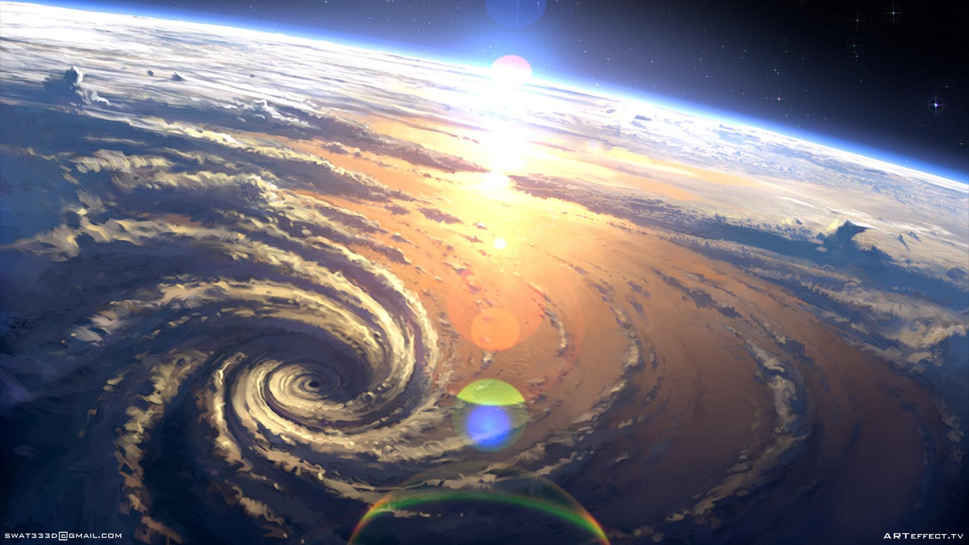 Sviatoslav gerasimchuk earth sky