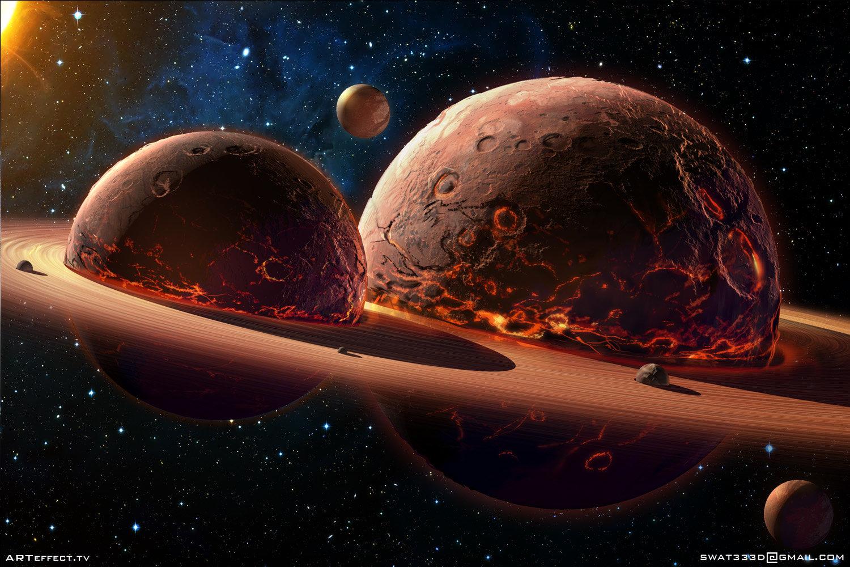 Sviatoslav gerasimchuk twins planets