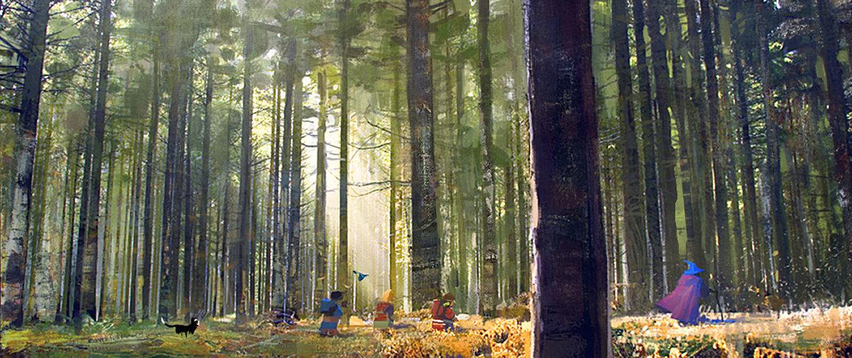 Alexander mandradjiev forest