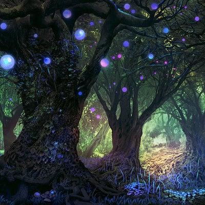 Ferdinand ladera forest wisp