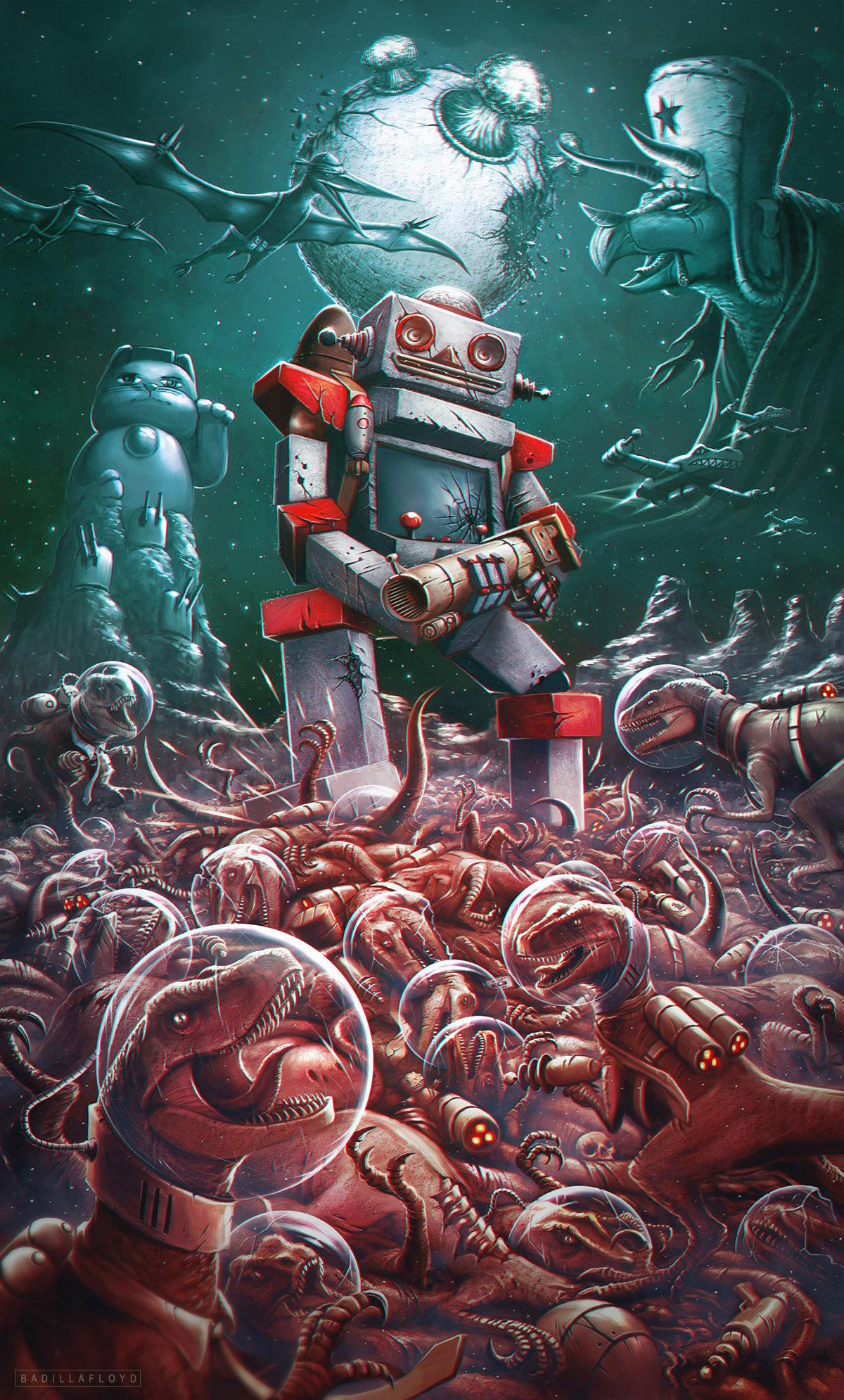 Francisco badilla poster robzybot nueva prueba
