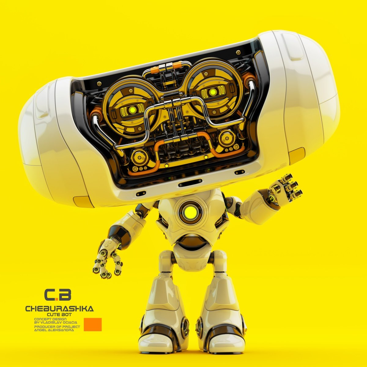Vladislav ociacia cheburashka robot 7
