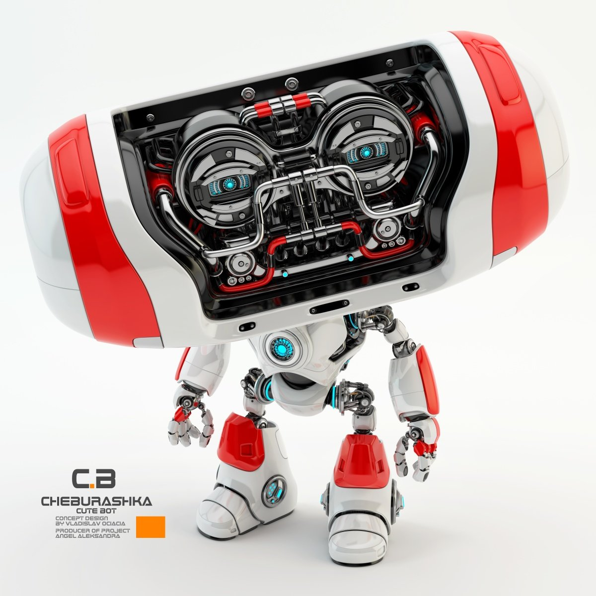 Vladislav ociacia cheburashka robot 10