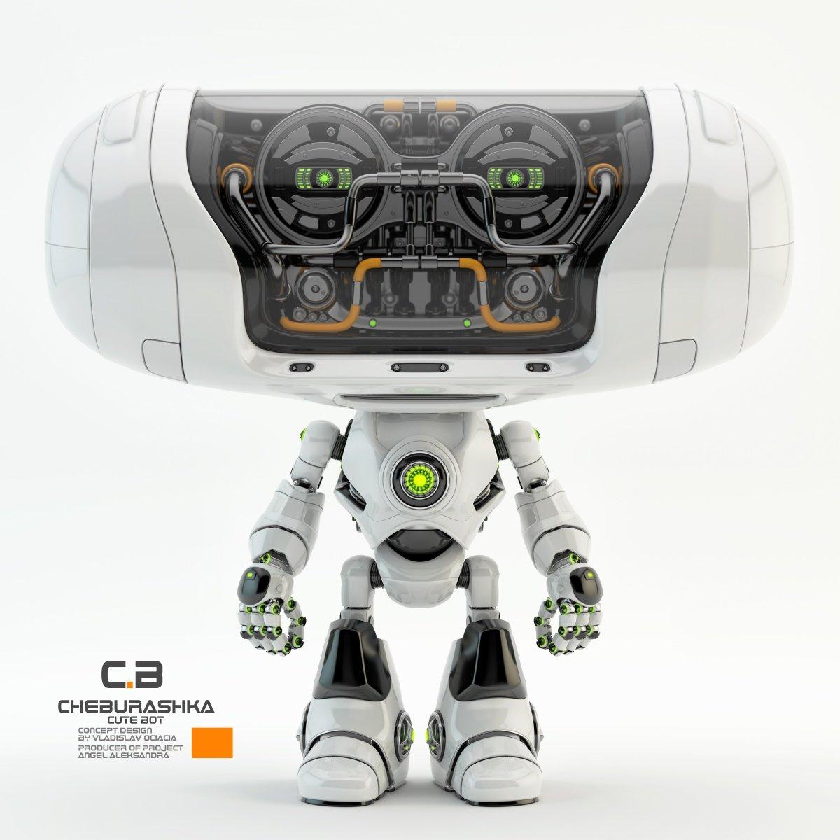 Vladislav ociacia cheburashka robot 2