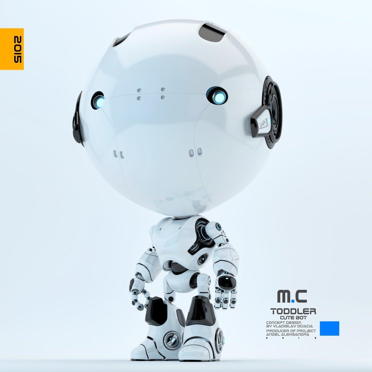 Vladislav ociacia toddler robot 3