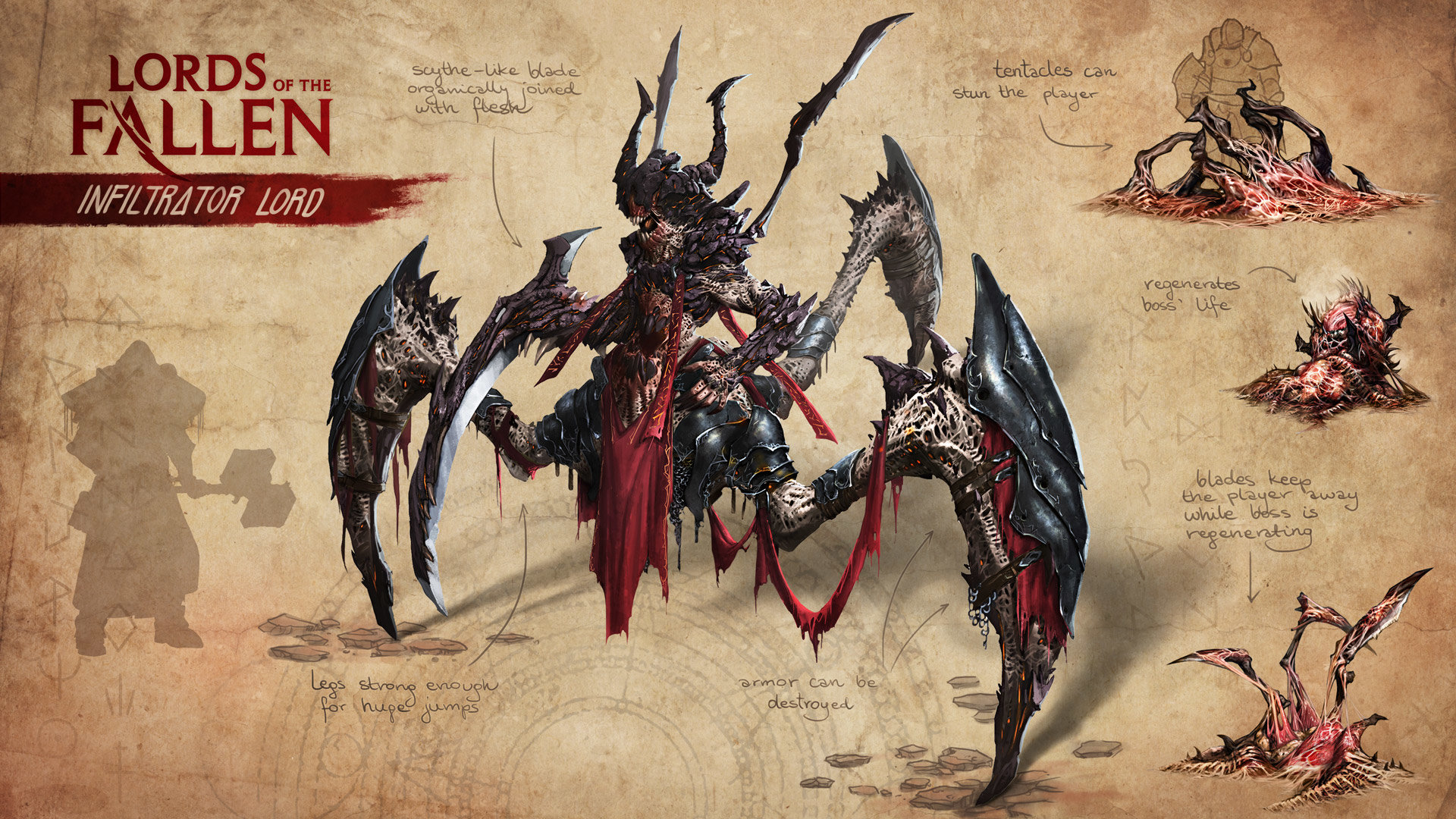 Opus artz lords of the fallen concept art infiltrator lord