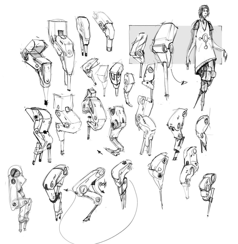 Human augmentation // Legs
