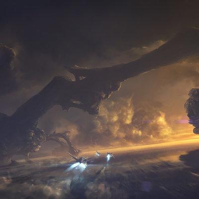 Dmitriy kuzin alien landscape