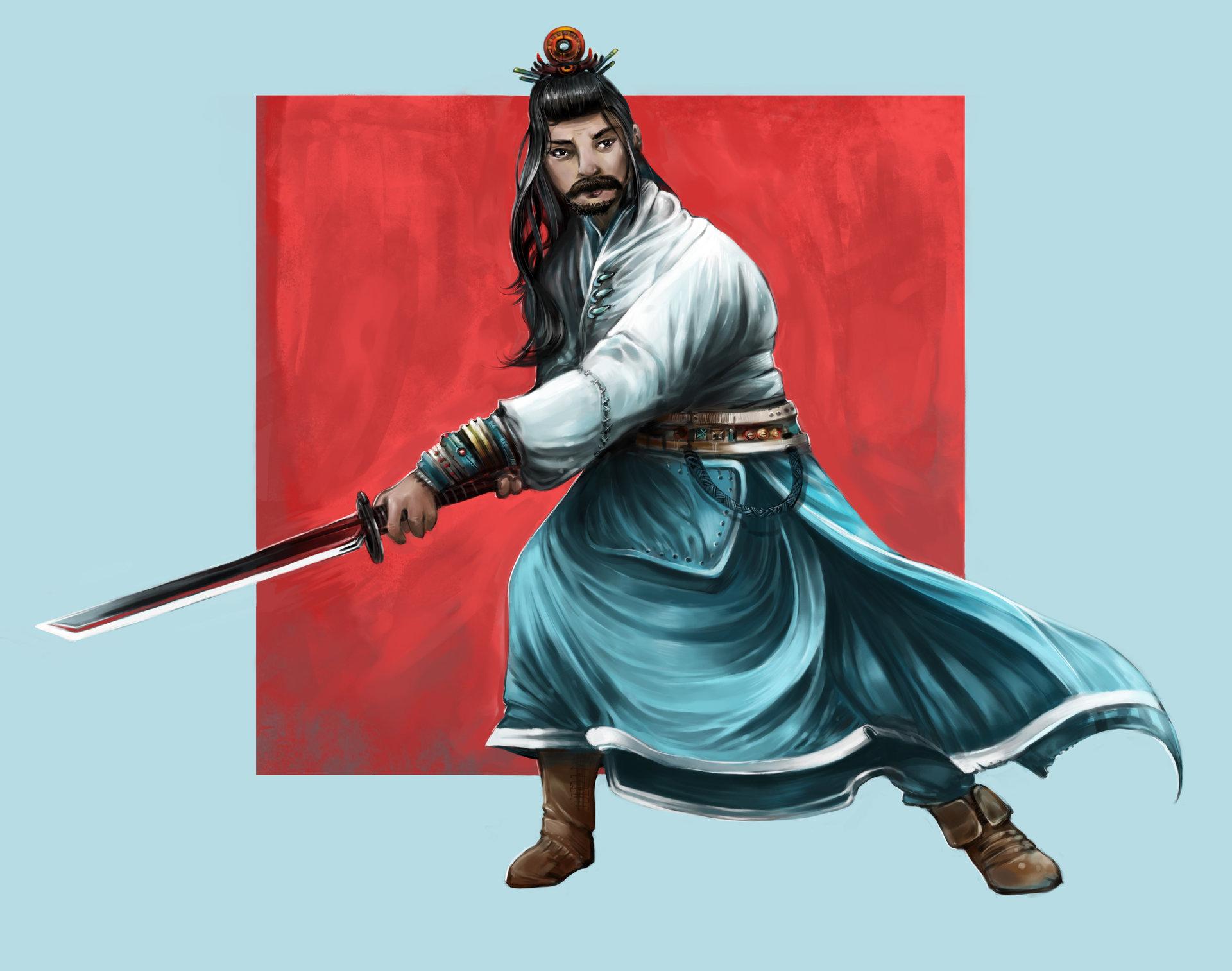 Josiah herman samurai