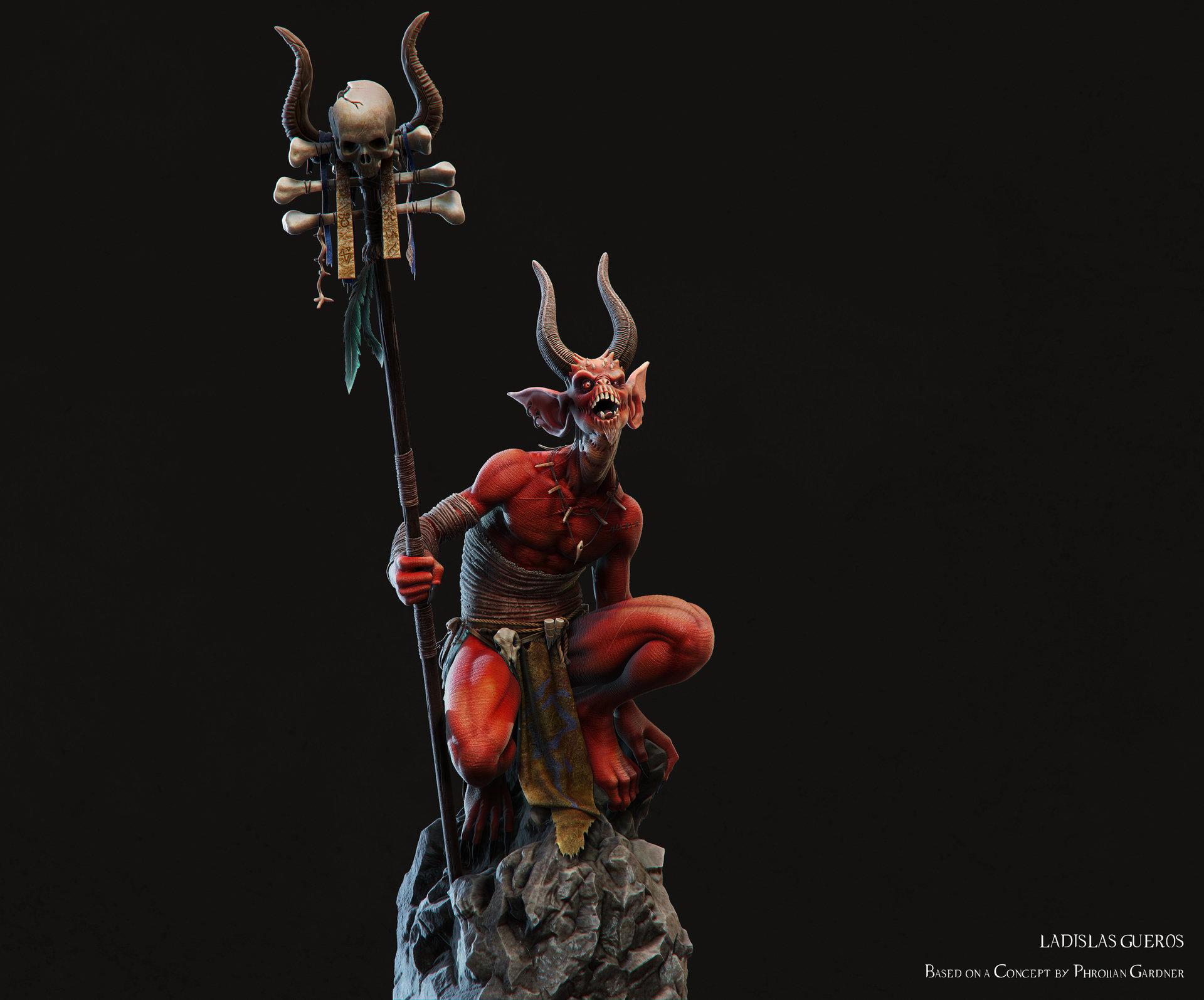 Ladislas gueros shaman def new