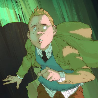 Harrison yinfaowei detective tintin