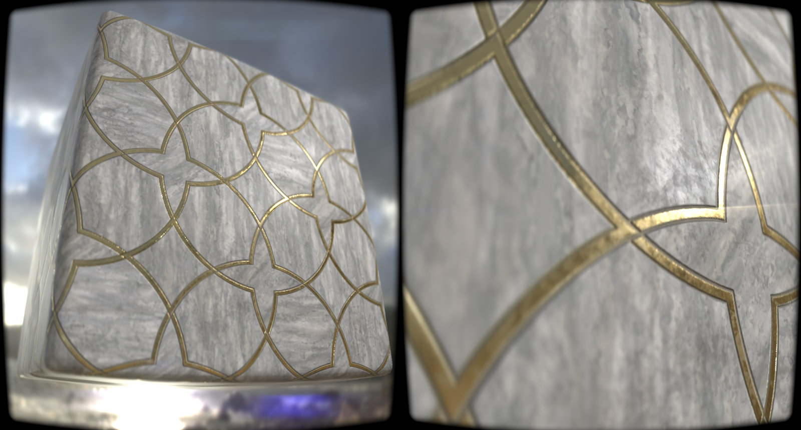 Ornated Marble