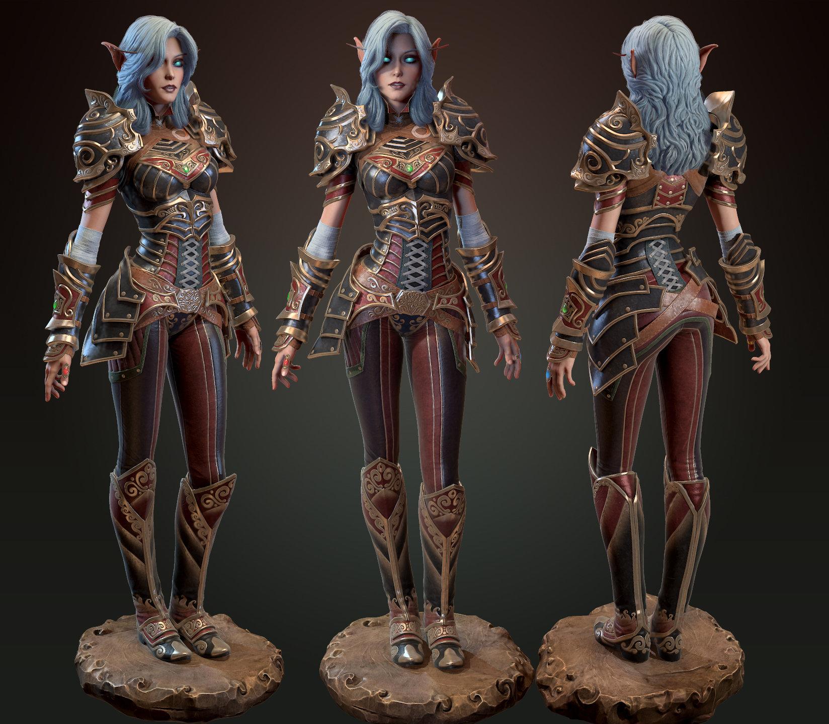 Elf 3d model sex clips