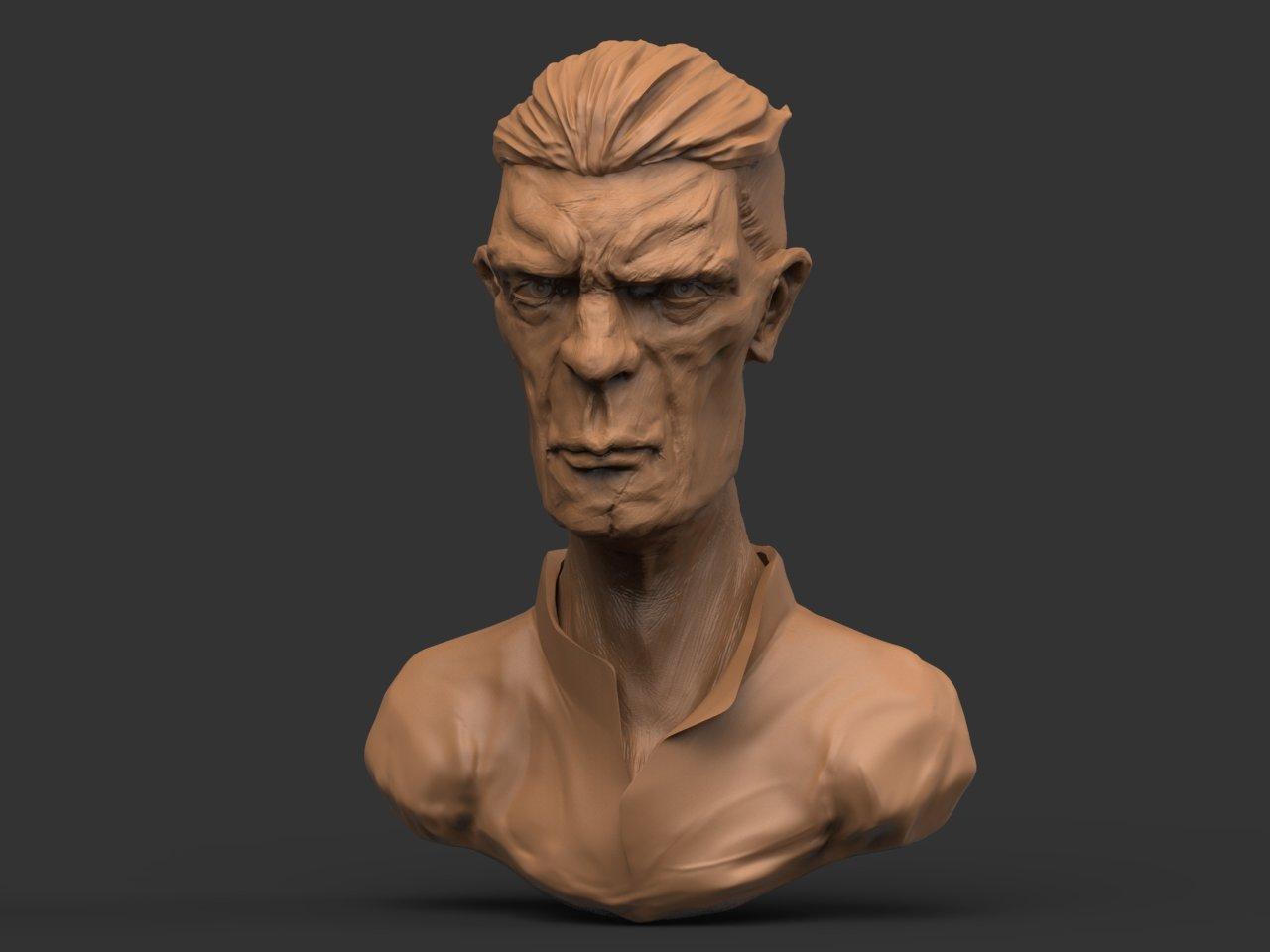 Portrait Sculpture  Test