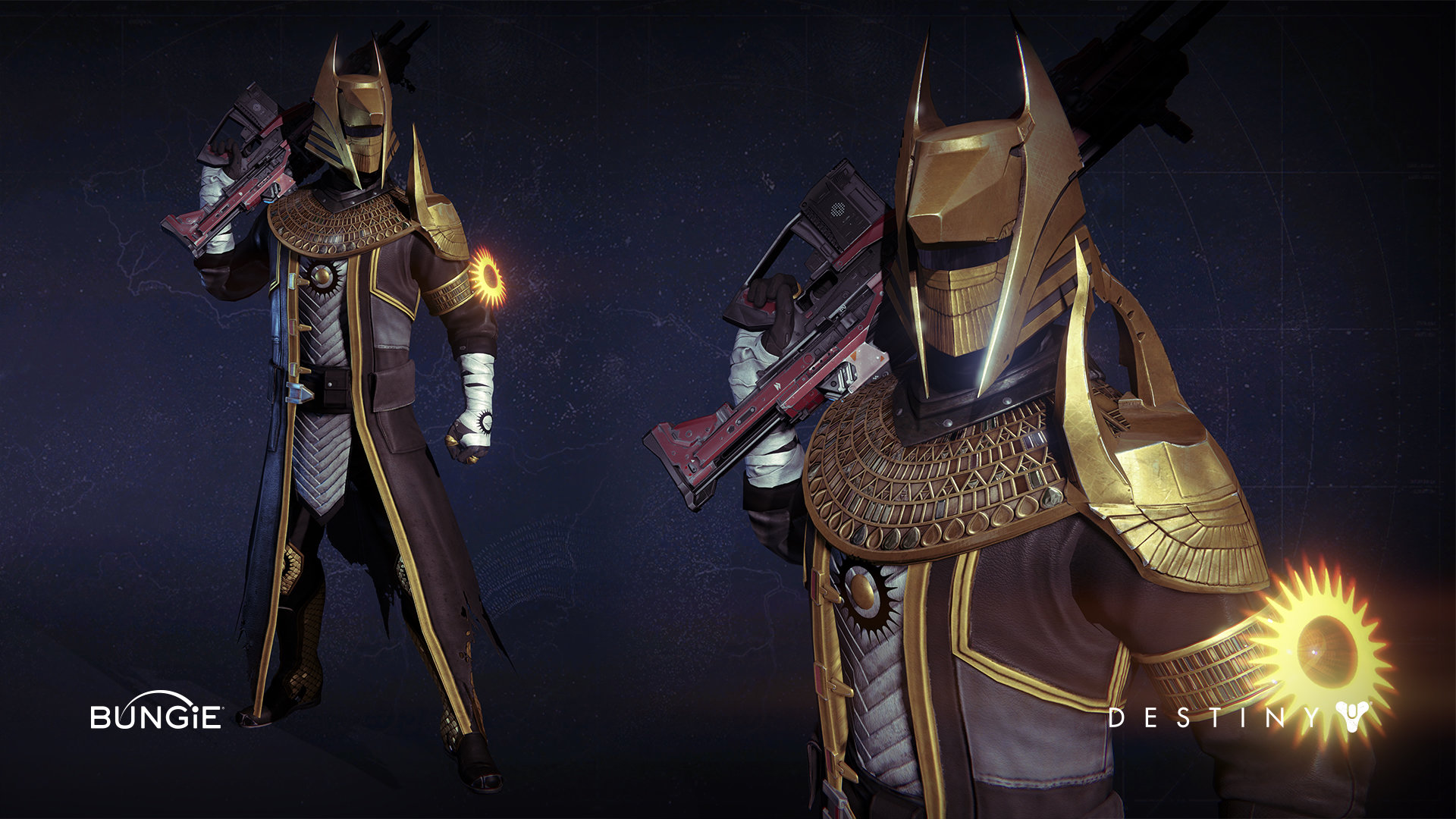Can we have Old Destiny 1 Warlock Armor back please? : DestinyTheGame