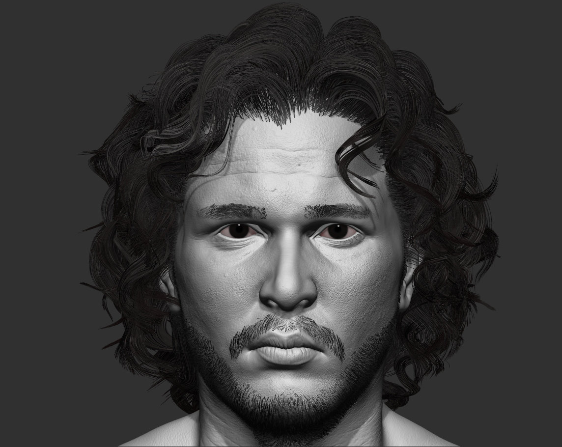 Game of Thrones - JOn Snow Fan art !  (W.I.P)
