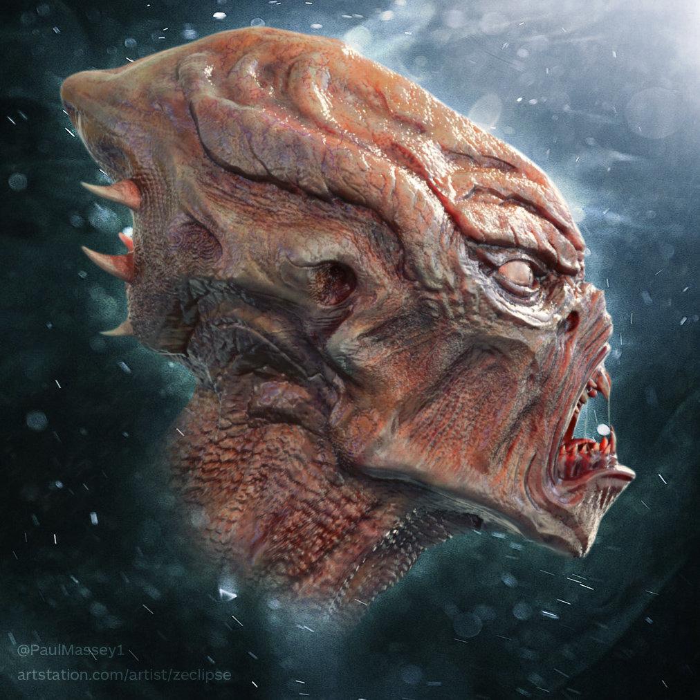 Paul massey alien sculpt a