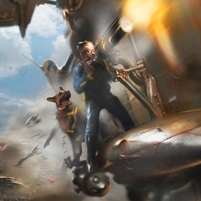 Ray lederer fallout4 concept vbirdwdog
