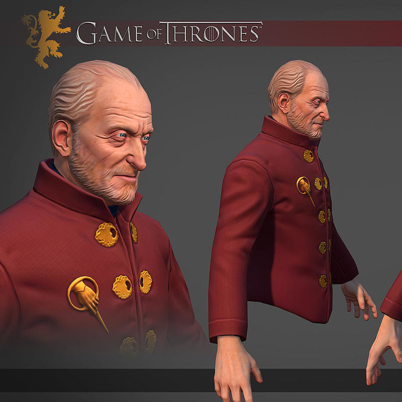 Tywin Lannister Bust (Fan Art)