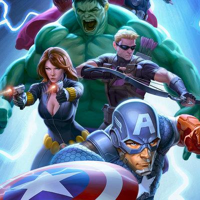 Mike capprotti avengers fcbd poster final lg