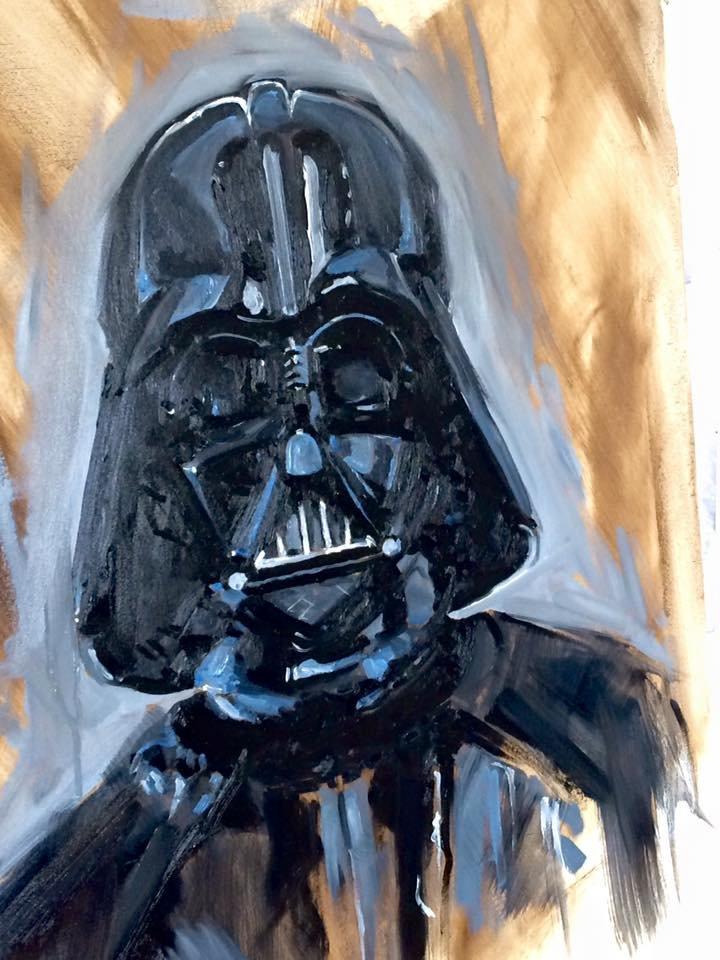 The Frisbeeman Darth Vader 05