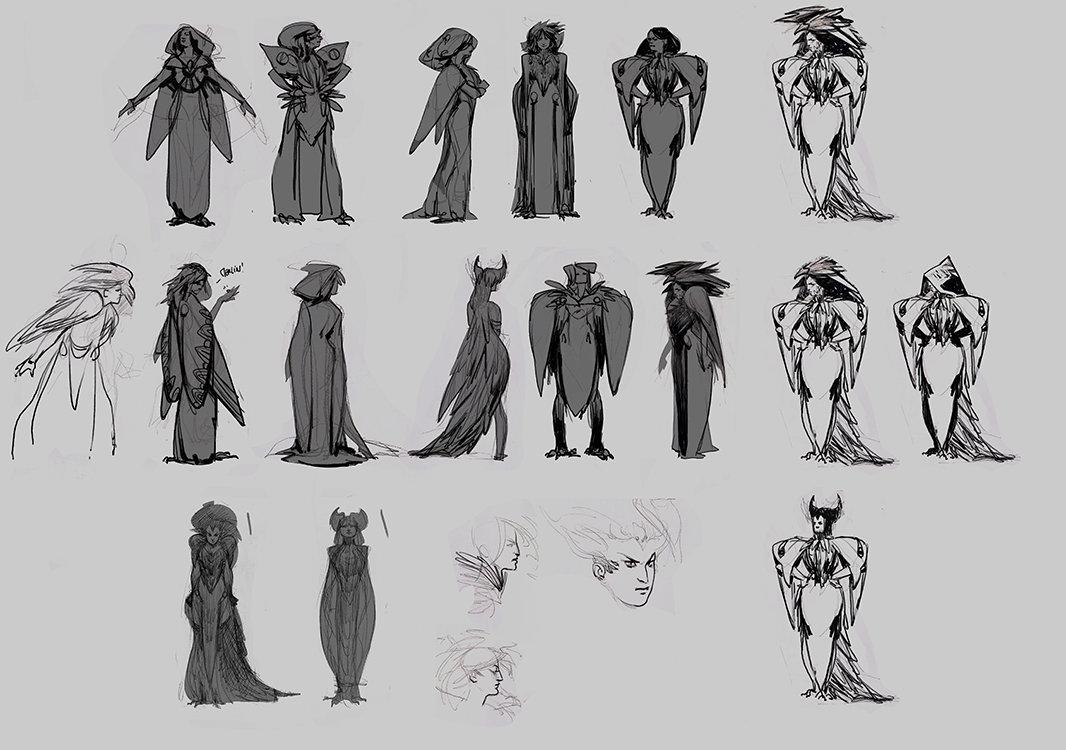 dev sketches