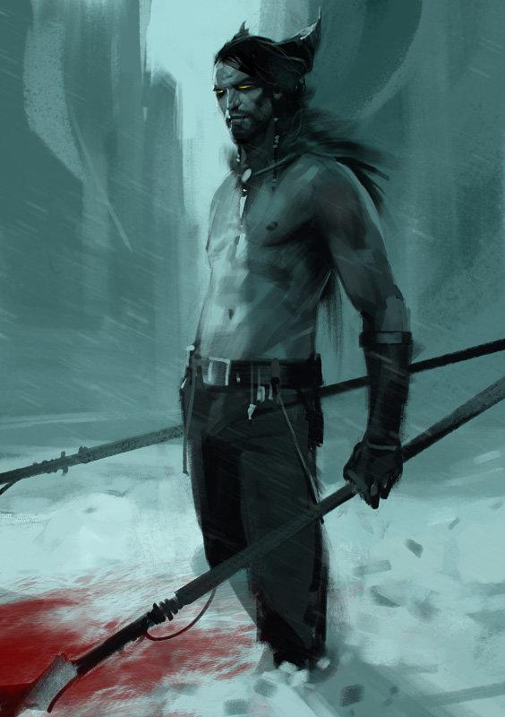 Sergey kolesov northen tribe man