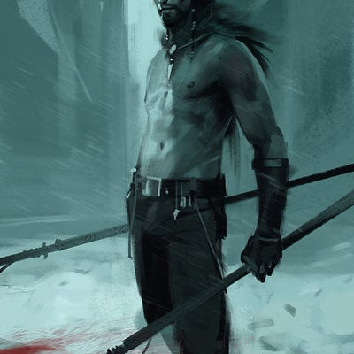 Sergey kolesov northen tribe man