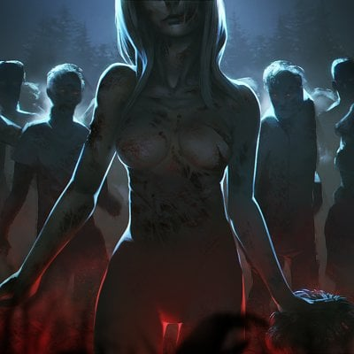Imguss the horror marching of the undead