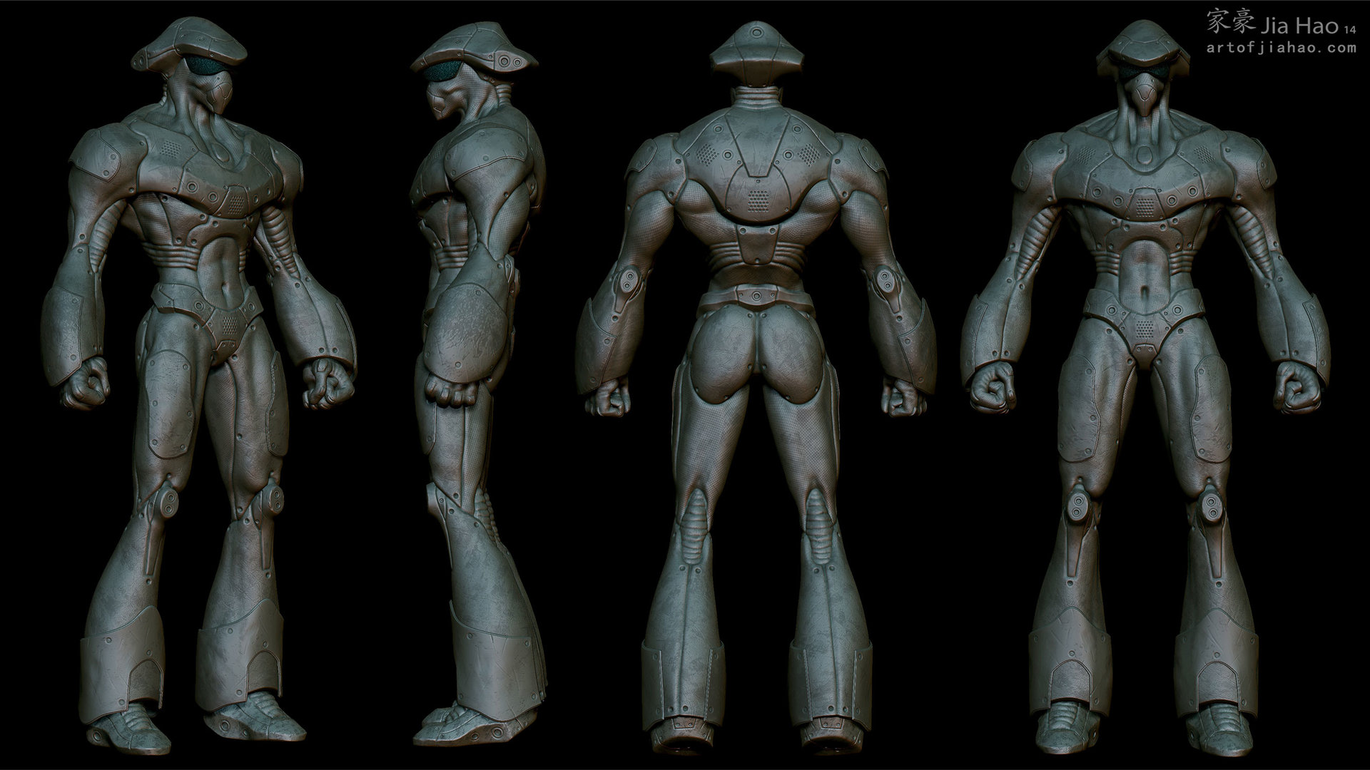 Jia hao 2014 02 cyberboxer views sculpt2