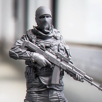modern russian soldier - 557×558