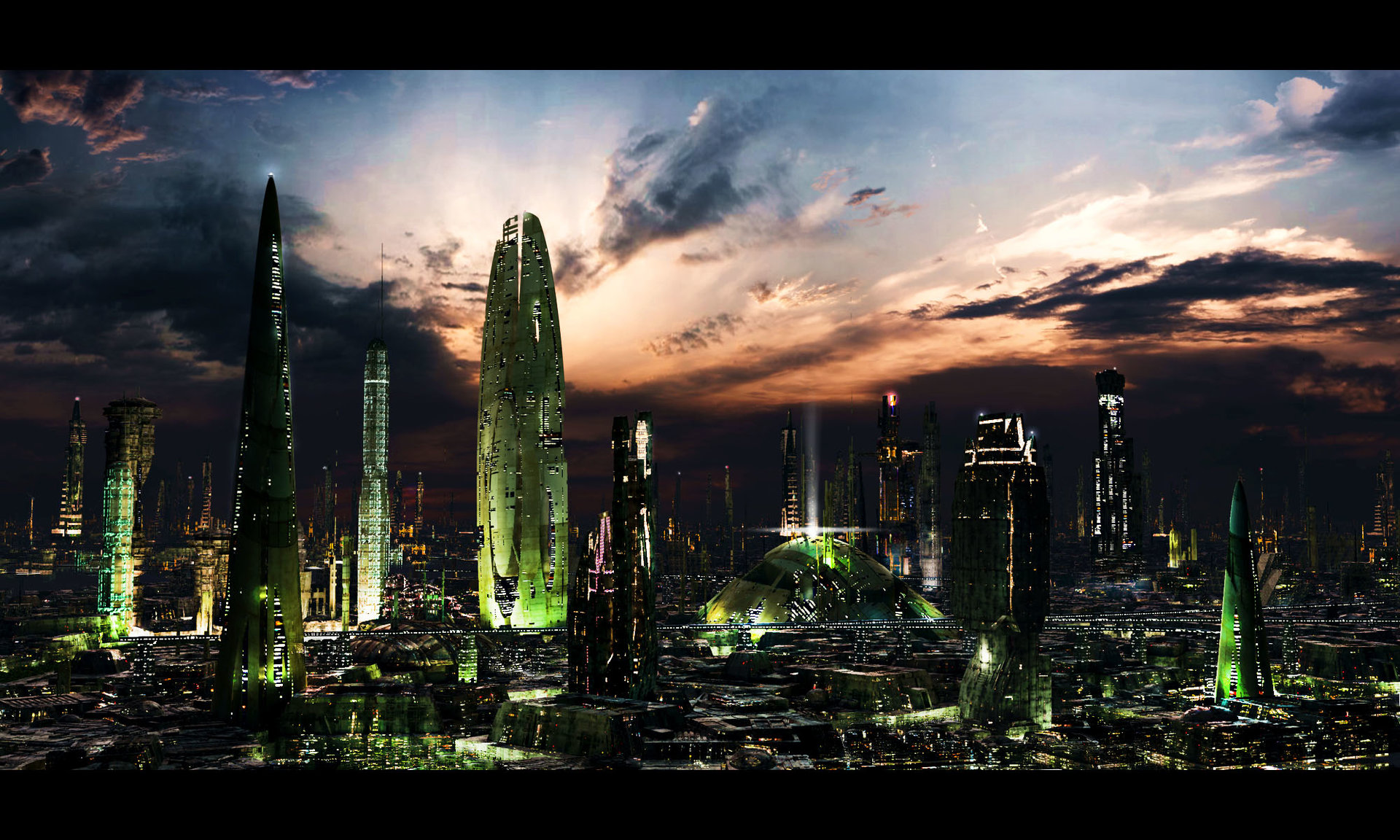 Scott richard futuristic city 3 test by rich35211 d37li6m