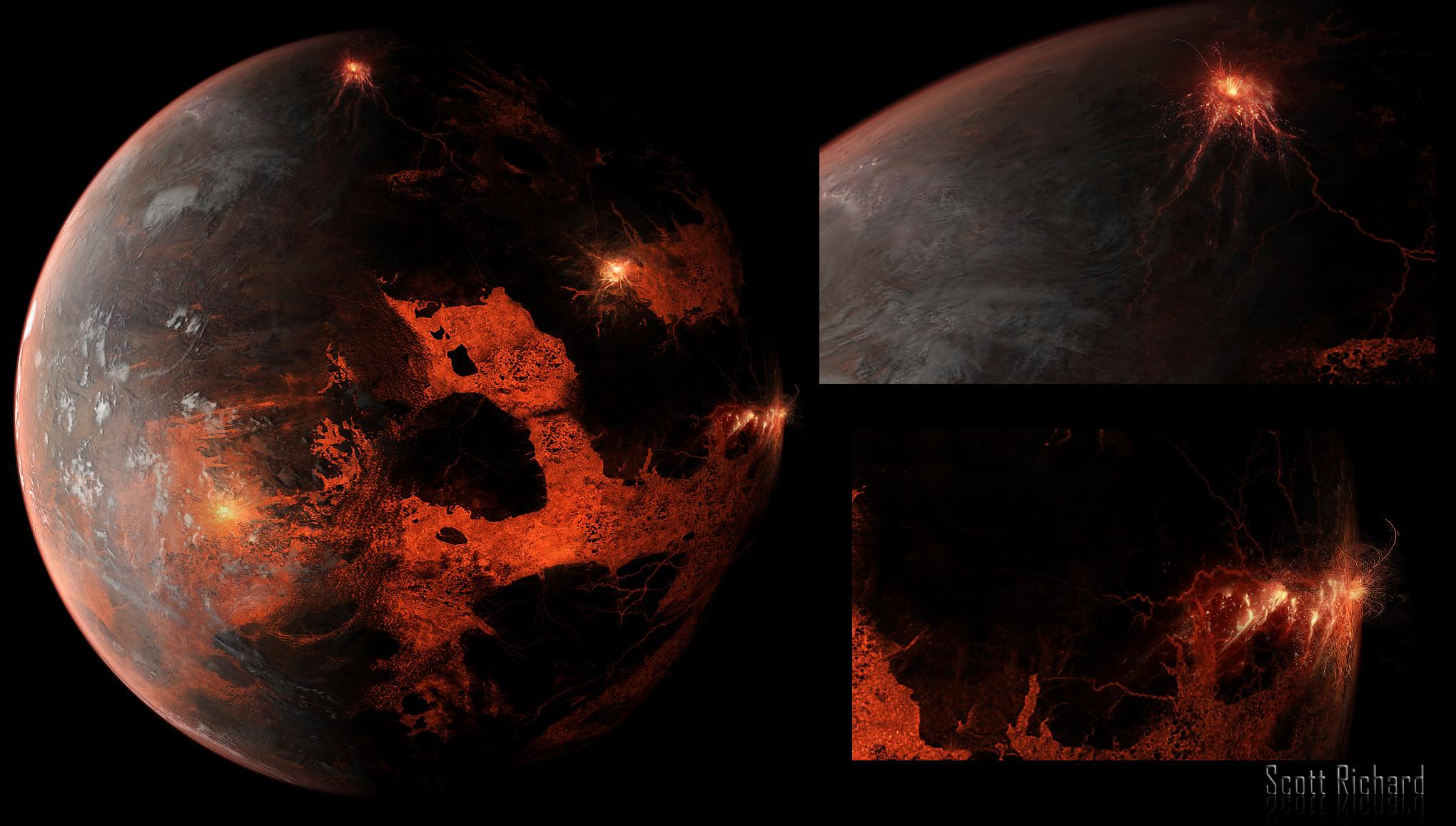 Space Art Concept