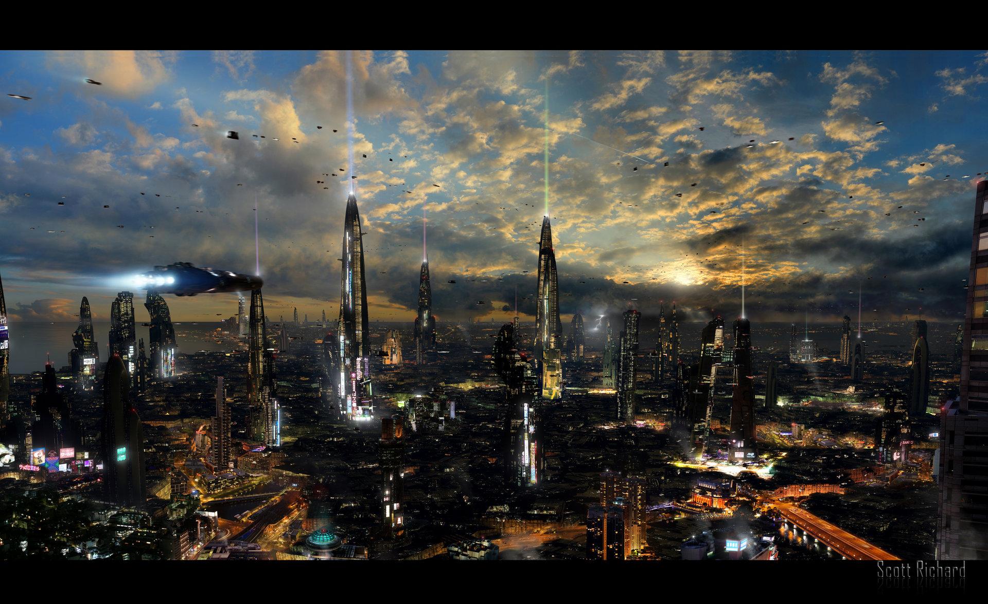 Scott richard futuristic city 4 by rich35211 d4ssxt3