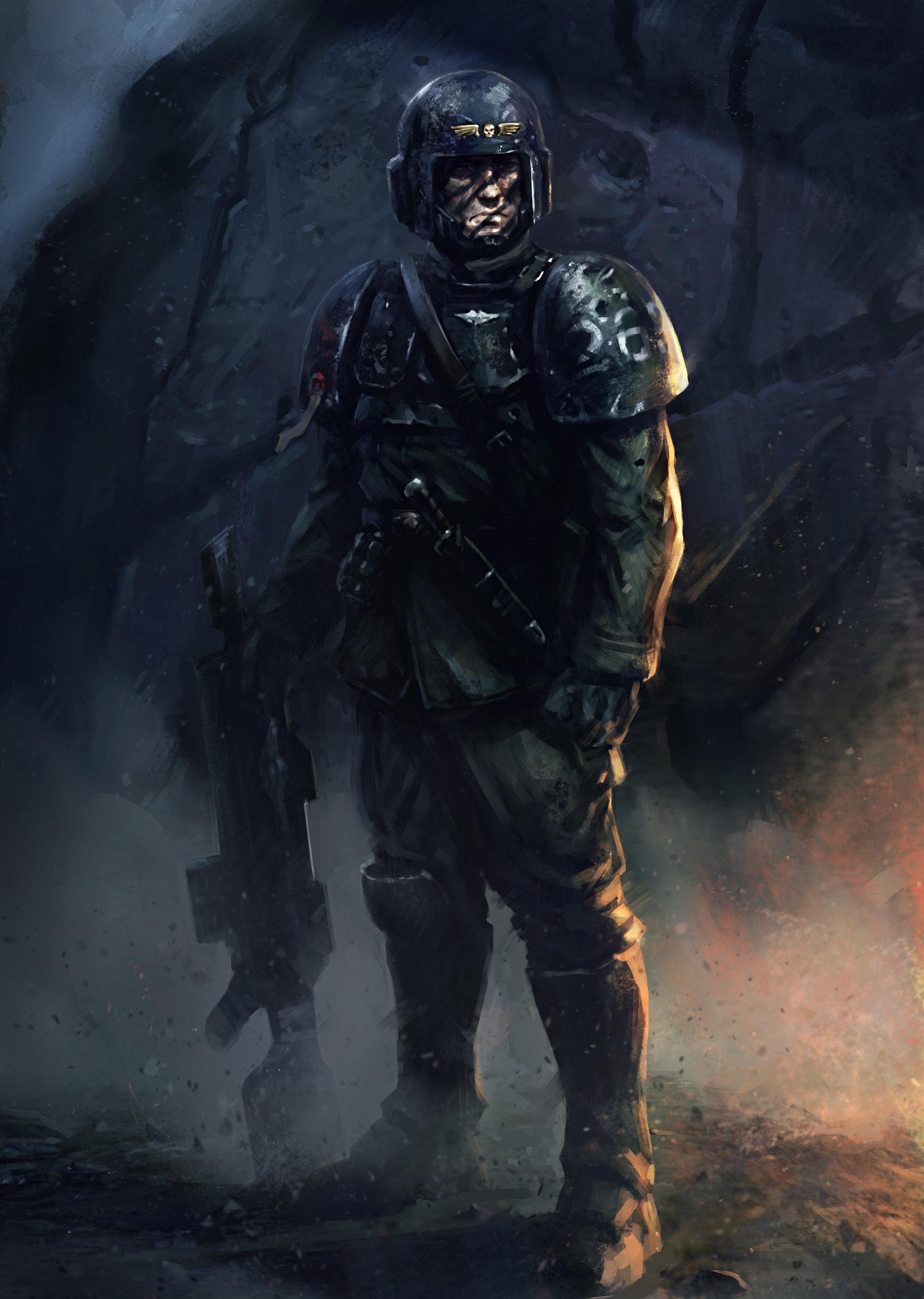 ArtStation - Imperial Guard, Salvador Trakal