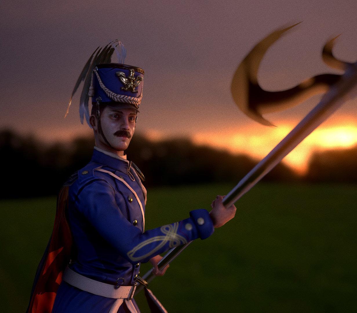 Luis santander soldier 2