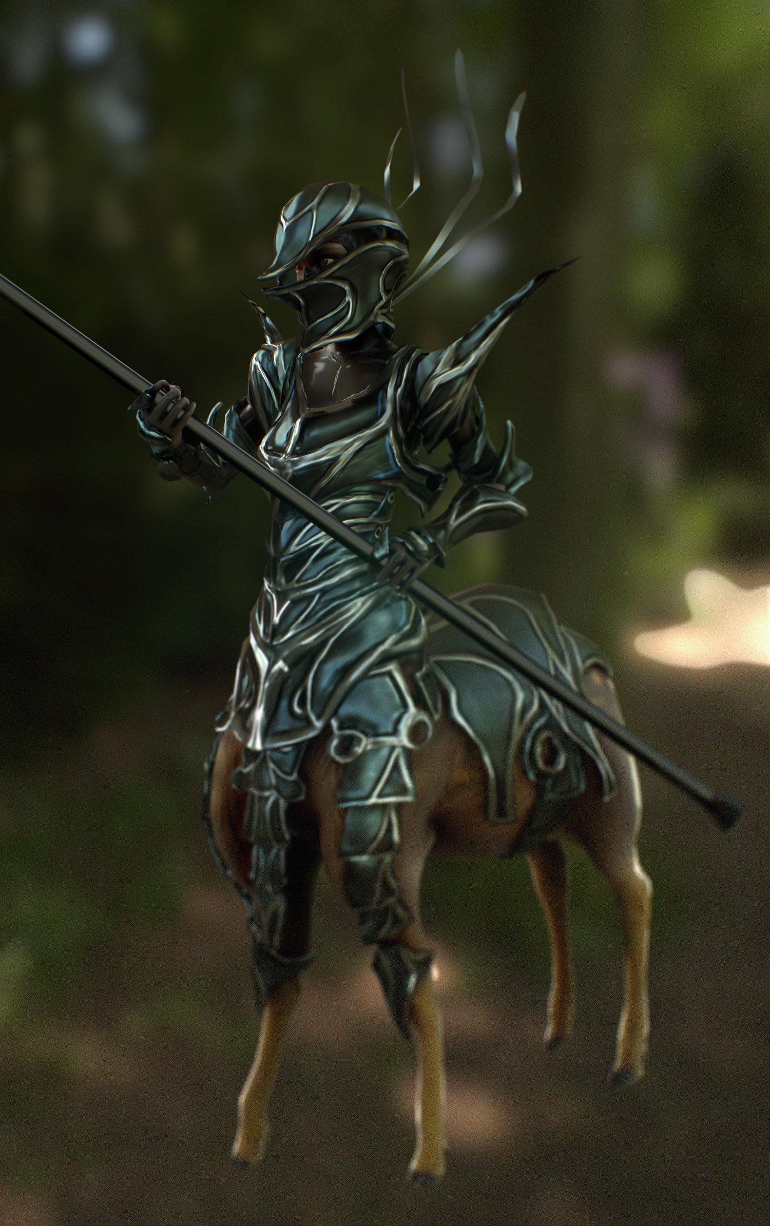 Luis santander armored deertaur 1