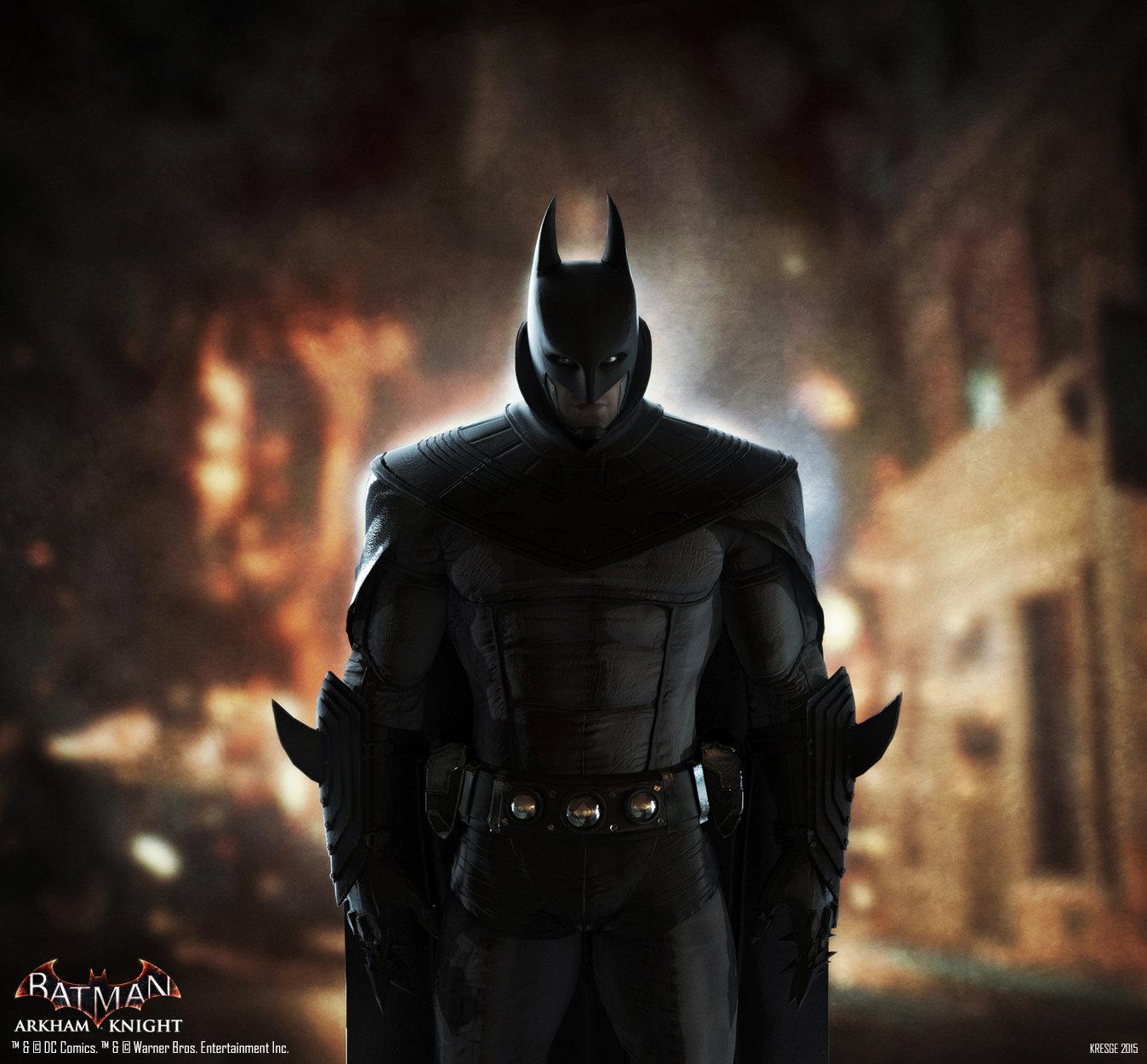 KeyShot Render & ArtStation - Batman Arkham Knight: Alternate Anime Batman Costume ...