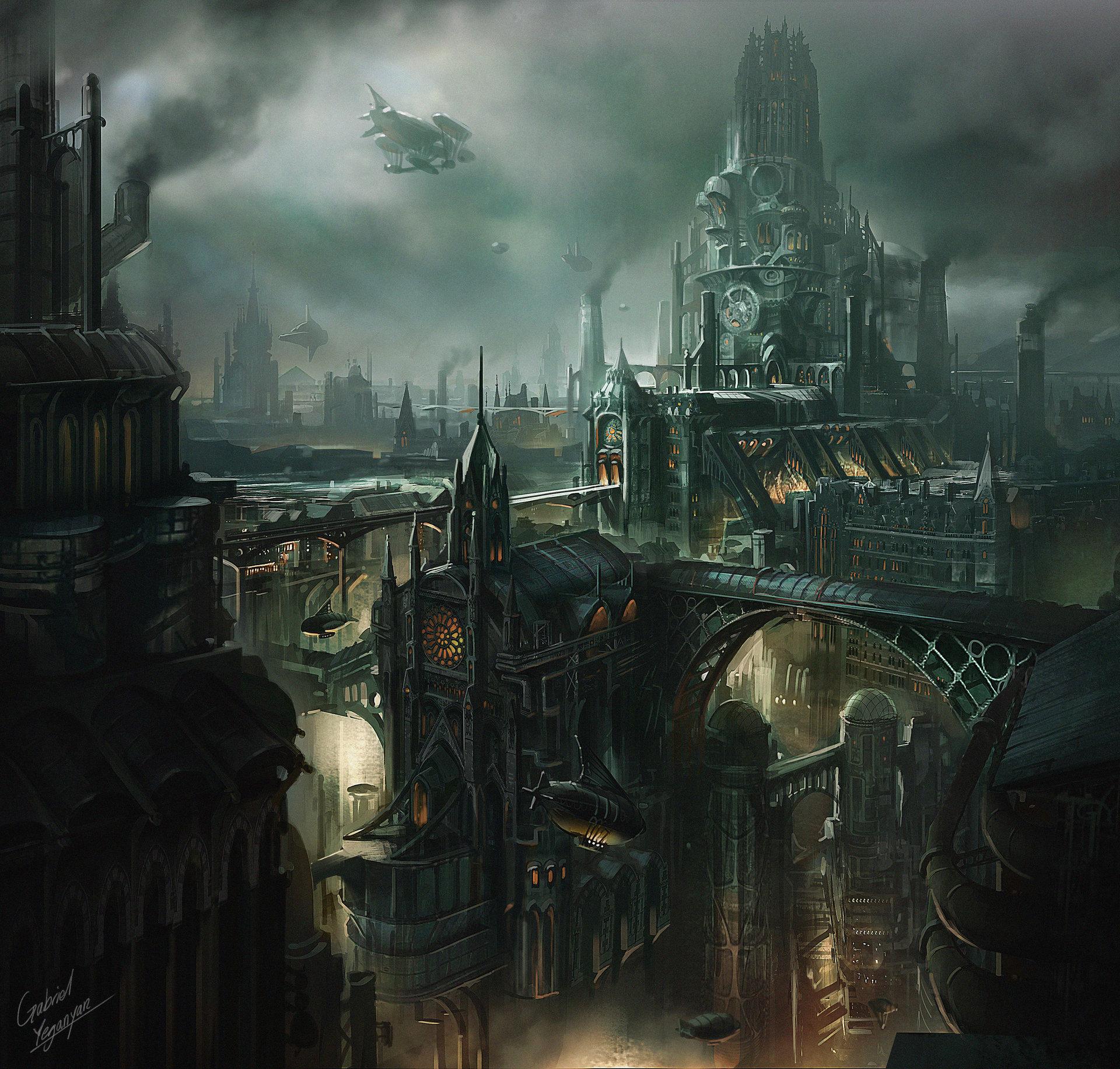 Gabriel yeganyan gy lantern city3 signed
