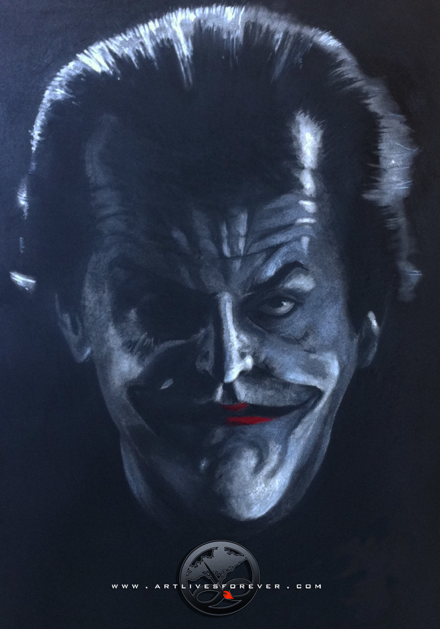 Bobby foster the jack nicholson as the joker