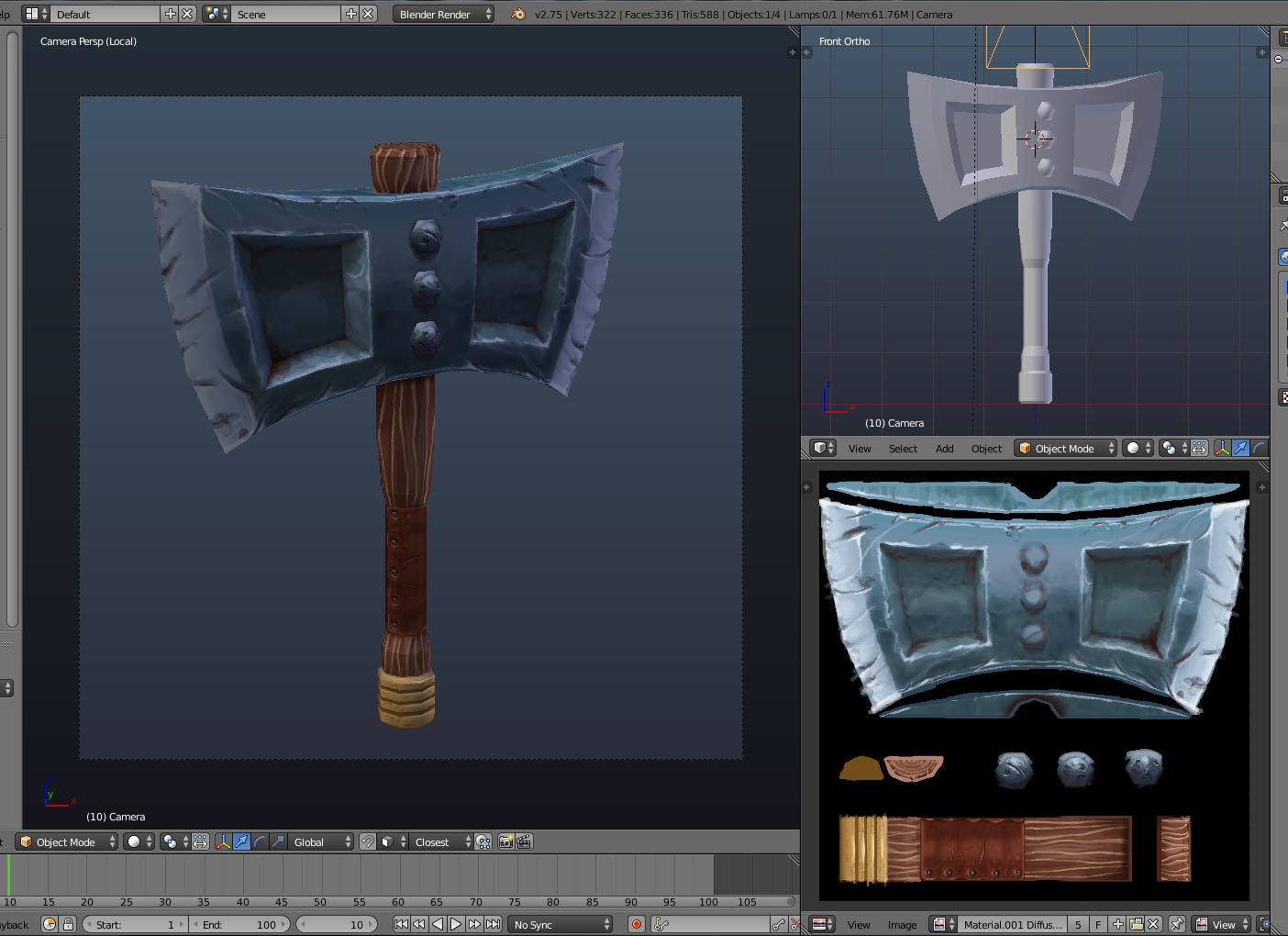Blender screenshot.