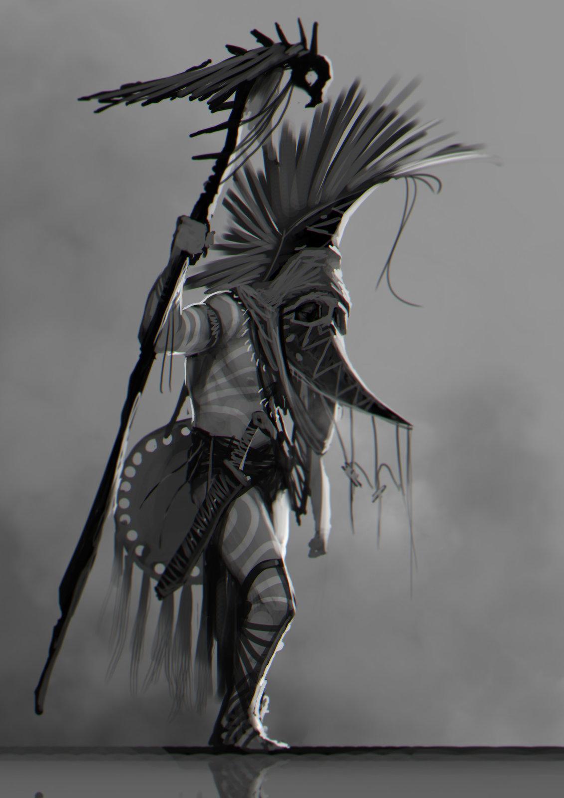 "Character Design Speedpaint- ""Moon Sage"""