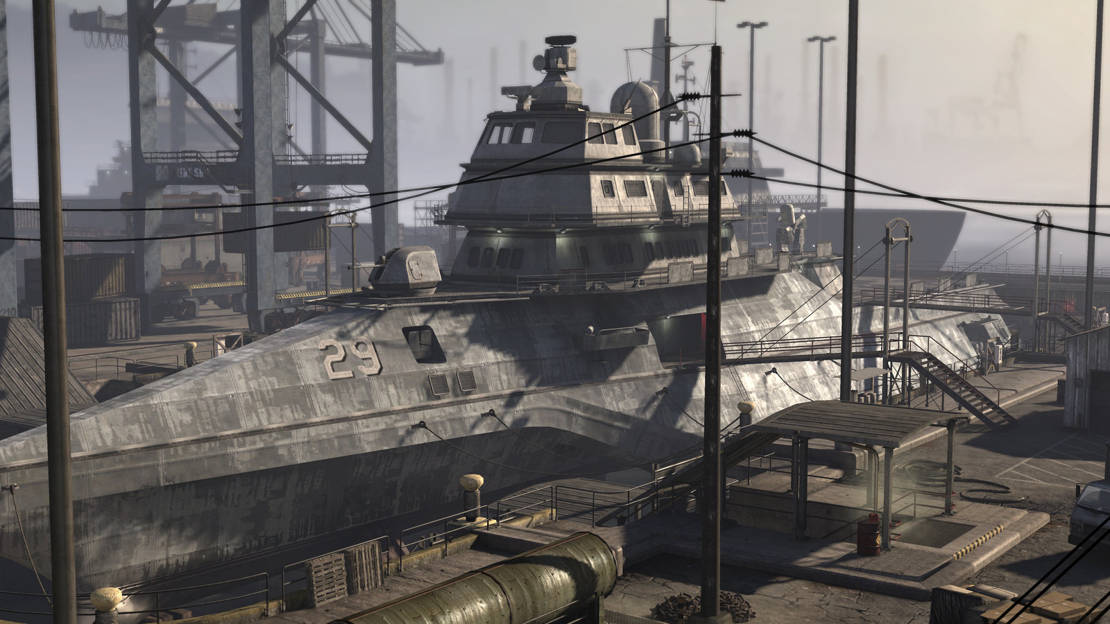 Port Authority Map (Socom 4)