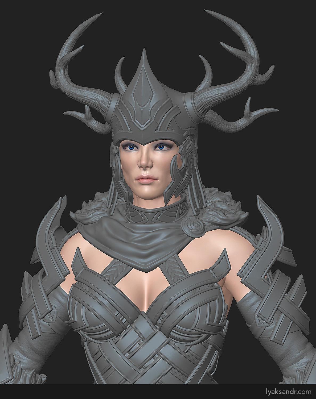 Lyaksandr prelle tworek norn stag heavy highpoly hero