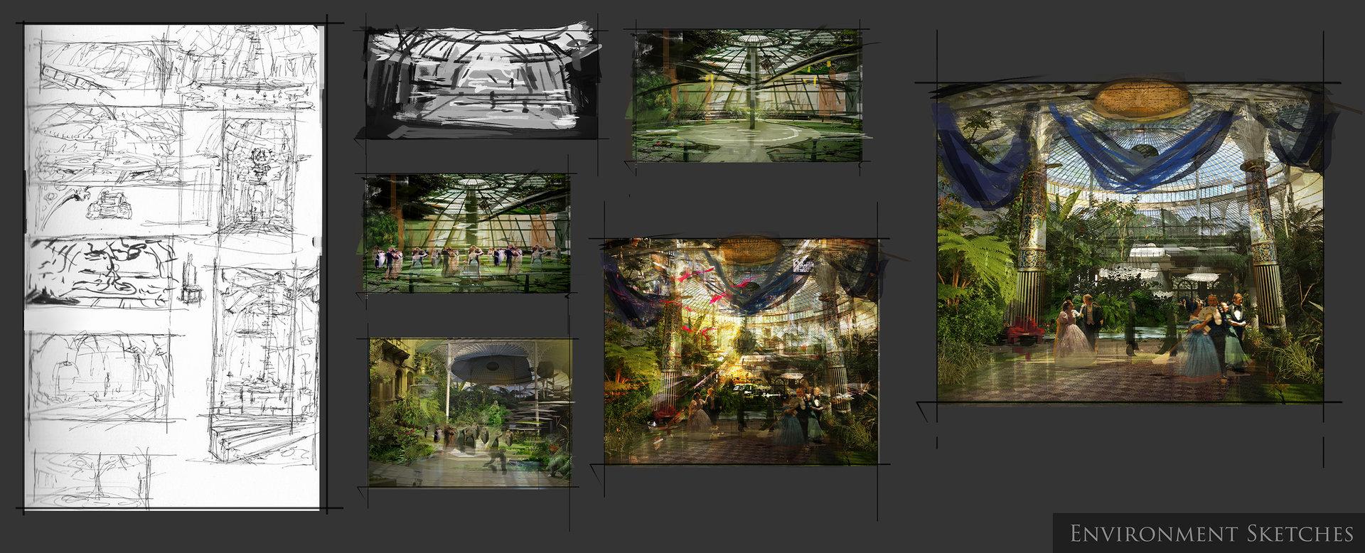 Muyoung kim rad ballroom concept sketches myk